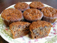 Allergy Free Carrot Cake Muffins