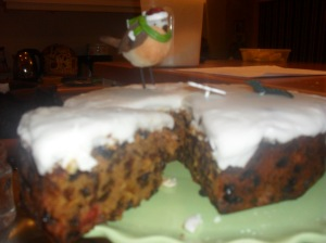 Allergy Free Cut Xmas Cake