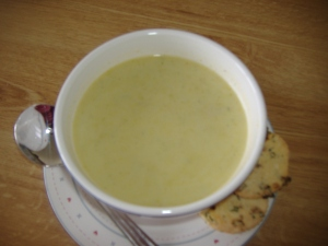 Jane's Pear and Parsnip Soup