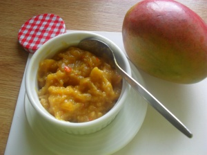 Mango and Pineapple chutney