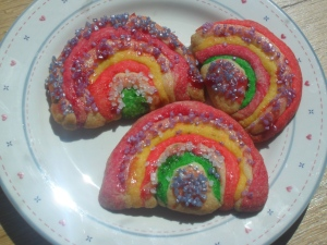 Allergy Free Rainbow Cookies