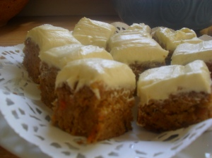 Allergy Free Carrot Cake