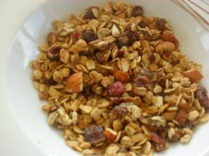 Allergy free granola