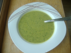 tasty and healthy soup