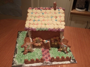 Allergy free gingerbread house