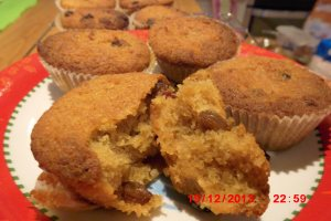 Allergy free christmas  muffins