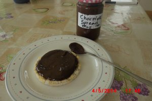 Allergy free chocolate spread