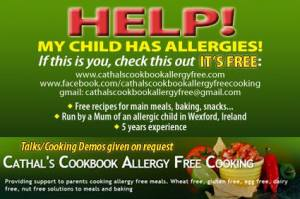 Helps anyone that finds it hard to cook allergy free food.