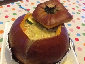 Curry in a pumpkin