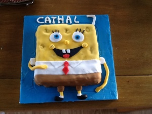 This is Cathal's Birthday Cake