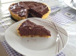 Chocolate and Date Tart
